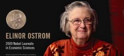 Econome Elinor Ostrom toonde: mensen kunnen collectief bezit ook zonder markt of staat beheren